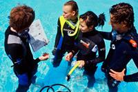 beginner-scuba diving crete